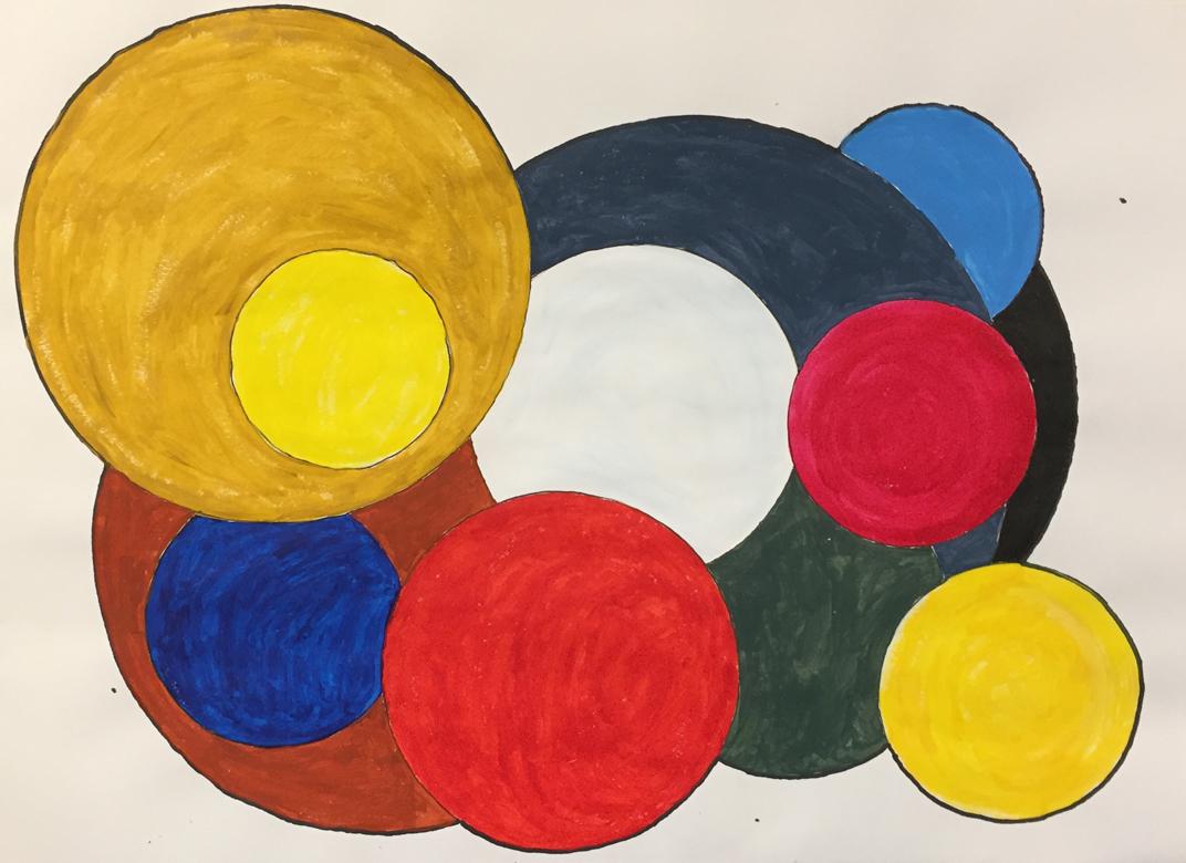 Trevor-Ah-Hang-_Circles-of-My-Mind_-acrylic-on-paper-297-x-420mm